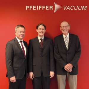 Pfeiffer Vacuum Welcomes 2014 Röntgen Prize Winner